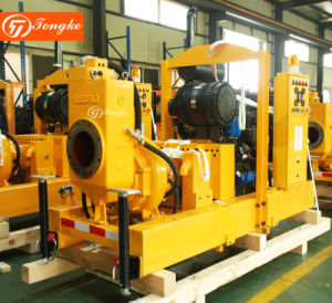 High Quality Non-Clogging Waste Water Diesel Pump with Trolly pictures & photos