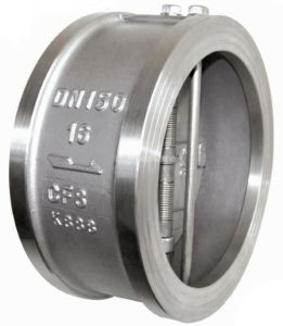 Stainless Steel Duo Disc Check Valve pictures & photos
