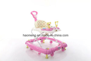 Three Color Baby Walker with Music pictures & photos