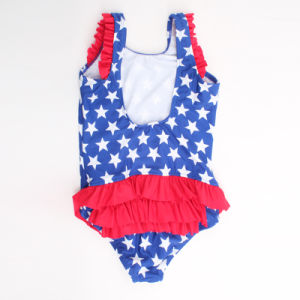High Elasticity Baby Girl′s Swimwear Beachwear Monokini pictures & photos