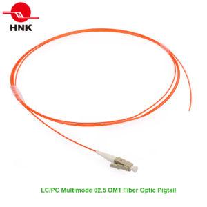 LC PC PVC/LSZH Jacket Multimode 62.5 Om1 Fiber Optic Pigtail pictures & photos