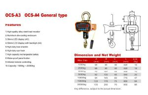 Eye Hook Type Crane Scale pictures & photos