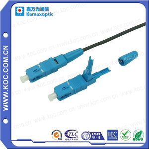 Shenzhen Manufacturer Competitive Sc/Upc Fiber Optic Cable Patch Cord pictures & photos