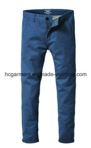 Colorful Cargo Silm Chino Soft Cotton Casual Pants for Man pictures & photos