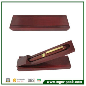 Special Design Popular Red Wooden Pen Box for Gift pictures & photos