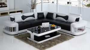 Modern Design Top Grain Leather Sectional Sofa pictures & photos
