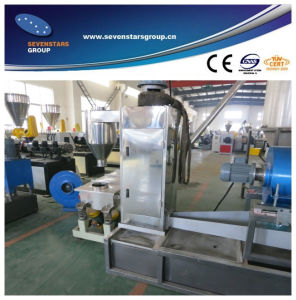 HDPE Crushed Flakes Granule Making Machine pictures & photos