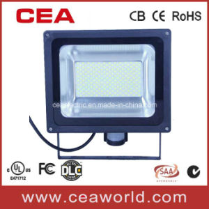 IP54 50W High Power SMD LED Flood Light with Infrared Sensor pictures & photos