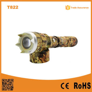 T822 Powerful Camouflage Military Swat Outdoor Flashlight pictures & photos