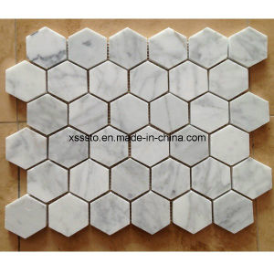 Various Designs White Marble Mosaic for Decoration pictures & photos
