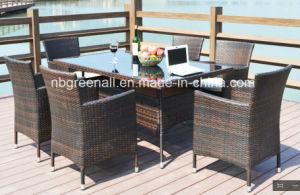 Patio Outdoor Rattan Garden Furniture Chair Table Set pictures & photos