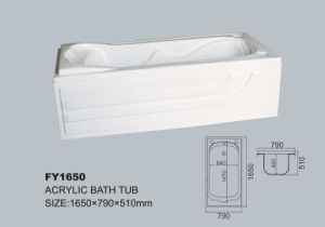 Tangshan Acrylic Bath Tub in Different Style