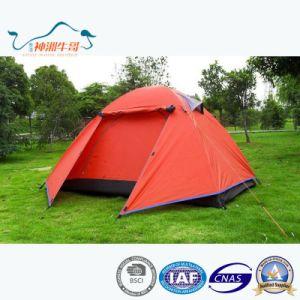 Popular Dome Double Layer Aluminum Rod Waterproof Outdoor Tent pictures & photos