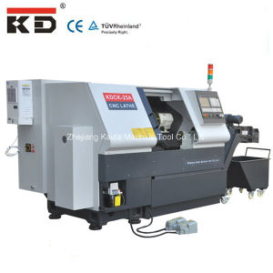 High-Precision Slant-Bed CNC Lathe Machine Kdck-25 pictures & photos