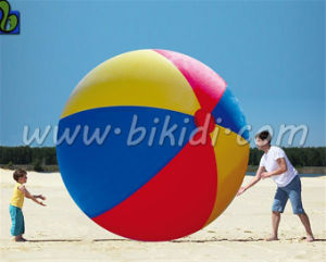 Giant Beach Ball, Wholesale PVC Inflatable Beach Ball for Sale D3054 pictures & photos