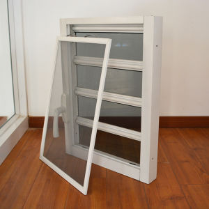 Aluminium Glass Shutter Window K09010 pictures & photos