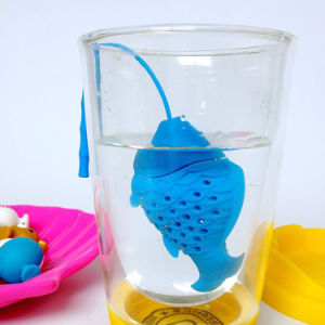Novelty Gold Fish Silicone Loose Tea Infuser Great Stocking Fillers pictures & photos