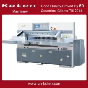 Program Controlled Paper Cutting Machine (QZYK-DF) pictures & photos