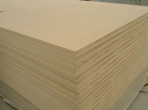 Plain (raw) MDF Board for Melamine MDF/ Veneer MDF pictures & photos