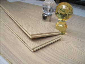 Natural Moistureproof Oak Wood Flooring with ISO14001 Certification pictures & photos