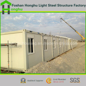 High Quality Flat Pack Sandwich Panel Prefabricated Building Expandable 20FT Container House pictures & photos