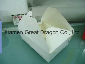 Custmized Paper Snack Box for Taking Away (GD-PB1003) pictures & photos