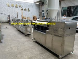 PLC Controlled High Precision Medical Transfusion Tubing Production Machinery pictures & photos