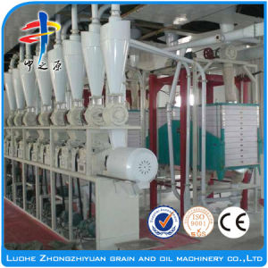 Full Set Small Scale Corn Flour Mill Machine (20T/D) pictures & photos