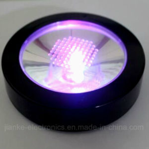 Light up LED Bottle Coaster with Logo Print (4037) pictures & photos