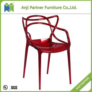 Hollow-Carved Back Design Rattan Design But PC Material Dining Room Chair (Pandora) pictures & photos