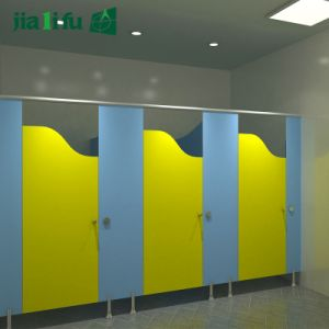 Jialifu Easy to Clean High Pressure Laminate Toilet Partiton pictures & photos