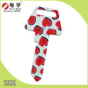 Factory Price Hot Sales Custom Colorful Fashion Metal Art Blank Key for Gifts pictures & photos