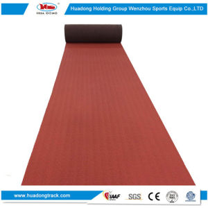 Stadium Surface Sports Rubber Running Track Material pictures & photos