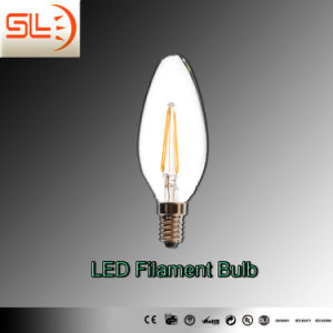 High Quality LED Filament Bulb Candle Light with CE pictures & photos