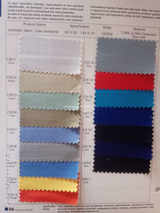 65%Polyester 35%Cotton Anti-Static ESD Fabric for Uniform Workwear pictures & photos