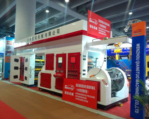 2015 Chinaplas Seven Motor Auto Rewind Flexo Printing Machine