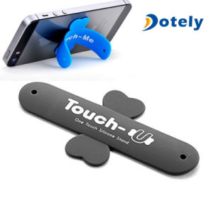 One Touch Silicone Mobile Slap Phone Stand pictures & photos