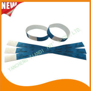 Tyvek Entertainment Custom Party VIP Paper ID Wristbands (E3000-1-53) pictures & photos