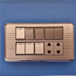 Multifuction High Quality Wall Switch and Socket (W-070) pictures & photos