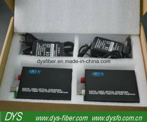 10/100/1000 20km Sx Fiber Optic Media Converter pictures & photos