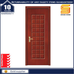 MDF Door Material and Finished Surface MDF PVC Door pictures & photos