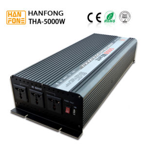 Frequency 150-5000W Solar Panel DC AC Power Inverter for Solar System (THA5000) pictures & photos
