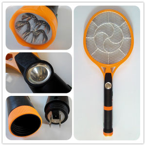 Rechargeable Electric Mosquito Killer Bat with Torch Light pictures & photos