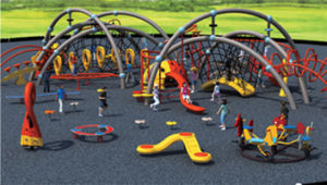 Plastic Playground Equipment