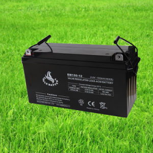 12V 150ah AGM Lead Acid Mf VRLA Rechargeable UPS Battery