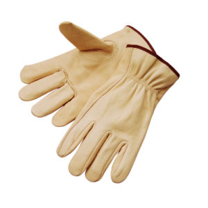 Top Cow Grain Driver Work/Working Glove Keystone Thumb Glove pictures & photos
