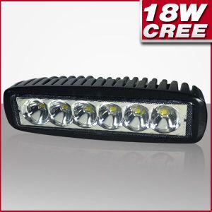 Flood Beam 90degree 18W CREE LED Work Light off Road Lights Driving Lamp for Truck SUV Boat 4X4 4WD ATV Ute (PD118)