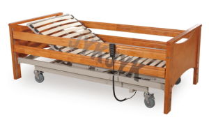 Two Cranks Manual Home Care Bed pictures & photos