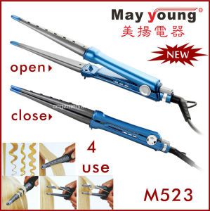 Manufacture Hair Straightener and Curler 2 in 1 Design pictures & photos