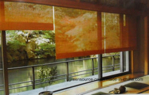 Bamboo Roller Blind (Window curtains A-10) pictures & photos